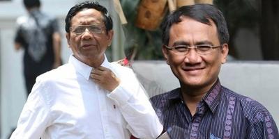 Amati Mahfud Vs Andi Arief di Twitter, Ini Kata Gerindra
