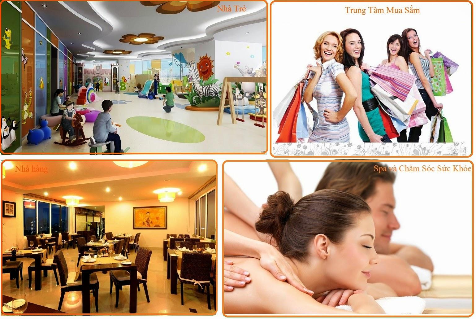 Tiện ích của chung cư Green Pearl Minh Khai