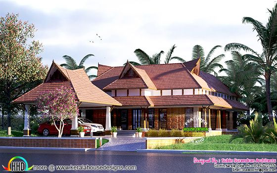 January 2017 kerala home design and floor plans for Home plans designs kerala