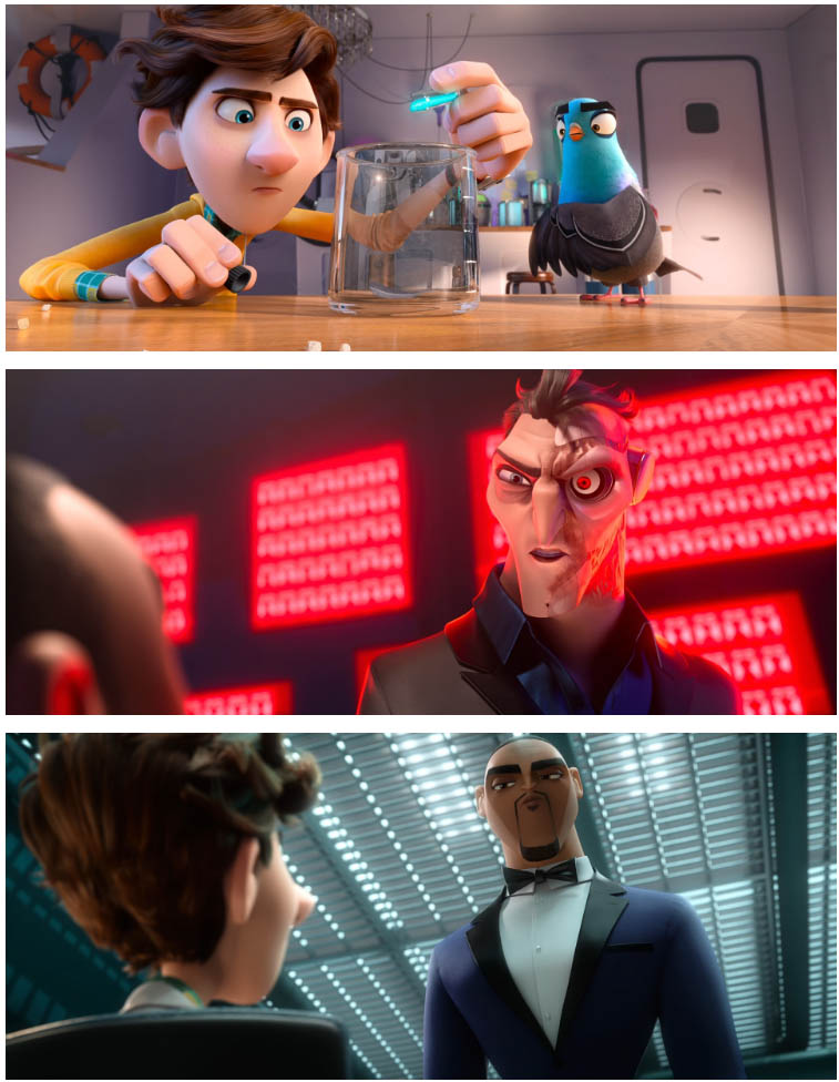 Spies in disguise full movie in english download