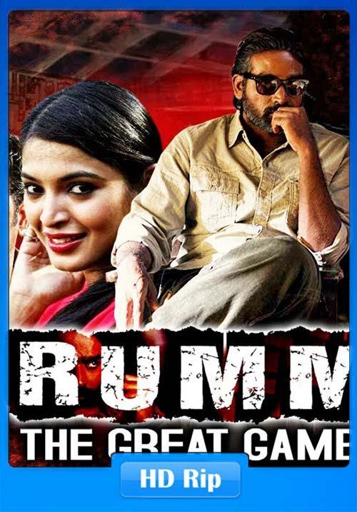 Rummy The Great Gambler Soodhu Kavvuum 2019 Hindi 720p x264 | 480p 300MB | 100MB HEVC Poster