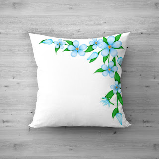 plain white cushion covers