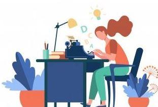 pekerjaan milenial  dengan gaji besar dengan menjadi content writer