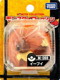 Eevee figure Takara Tomy Monster Collection M series