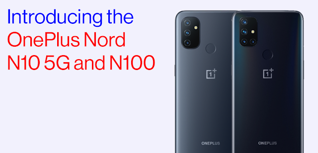 OnePlus Nord N10 5G and Nord N100