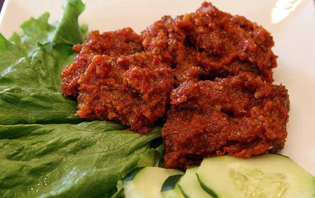 Resep dan Cara Membuat Daging Bumbu Bali Sedap