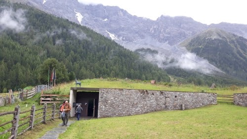 Ortless-Messner Mountain Museum-ghiaccio
