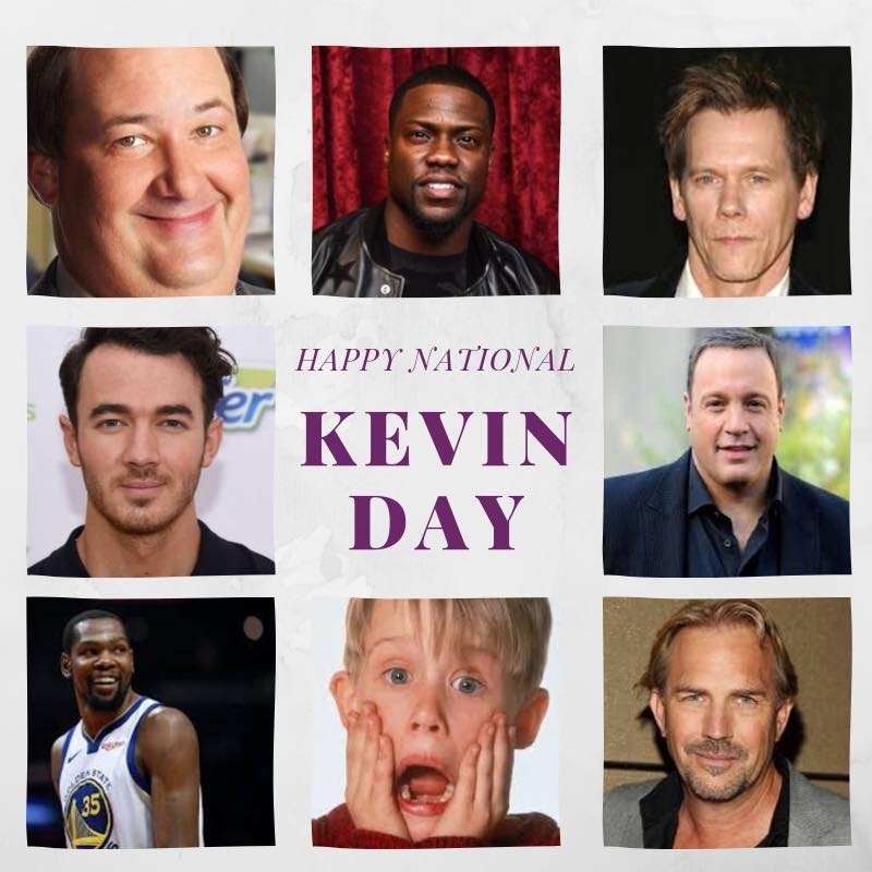 National Kevin Day Wishes Beautiful Image