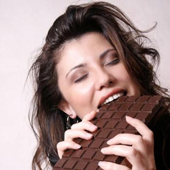 Sem você está passando por problemas emocionais coma um chocolate