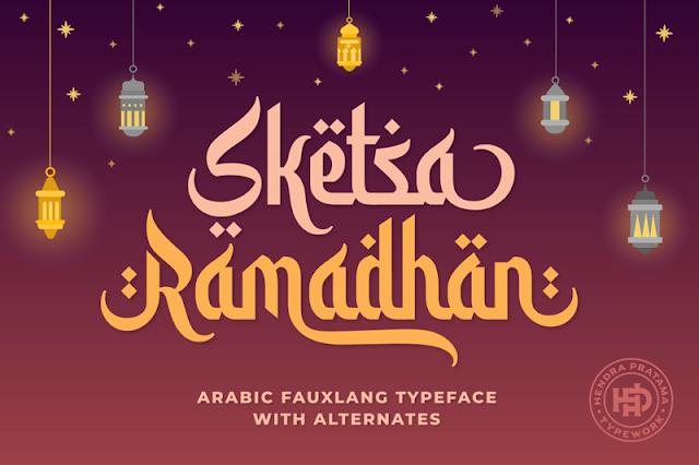 font ramadhan keren