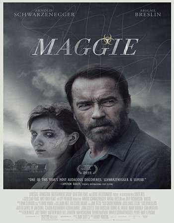 Poster Of Maggie 2015 In Hindi Bluray 720P Free Download