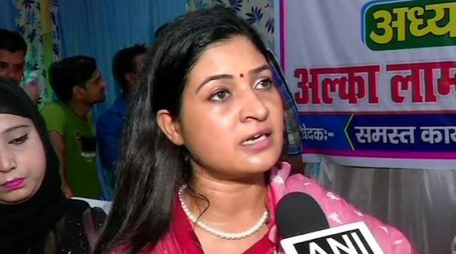 PM नरेन्द्र मोदी व CM योगी आदित्यनाथ पर टिप्पणी करने के मामले कांग्रेस नेत्री लांबा के खिलाफ मुकदमा दर्ज