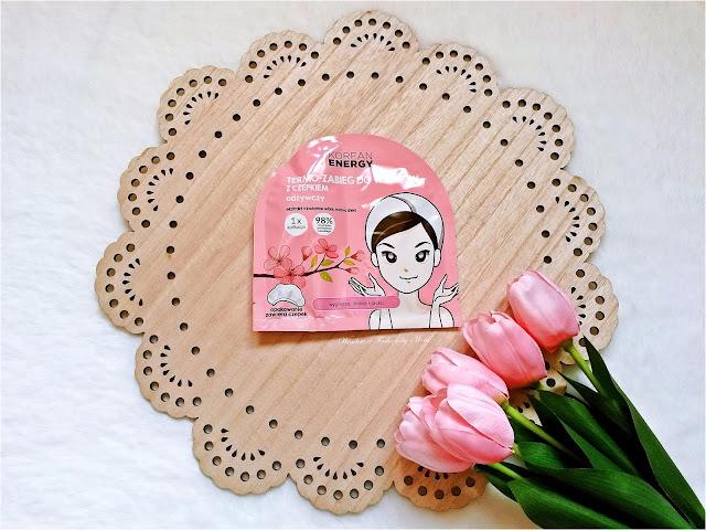 Korean Energy Termo - zabieg do włosów z czepkiem wzmacniający, ekstrakt z kwiatów wiśni, masło shea