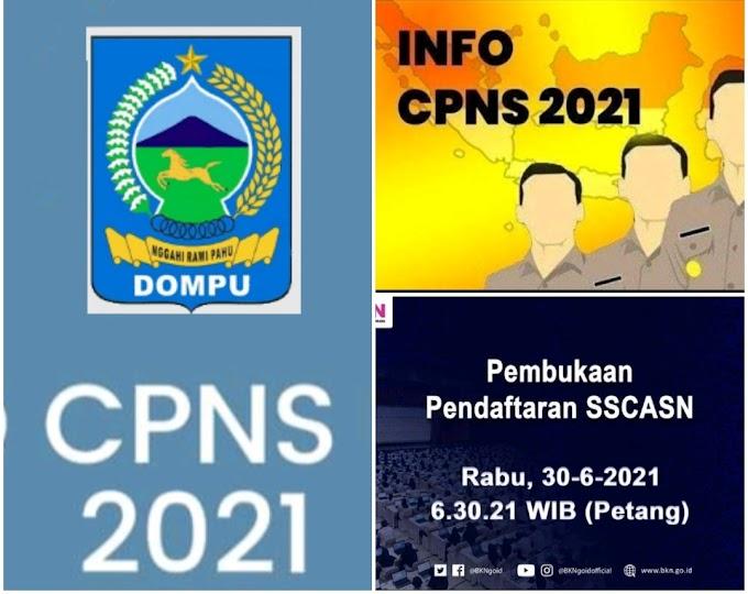 Giliran Kabupaten Dompu, Buka Pendaftaran CASN dan PPPK 2021, Berikut Formasinya