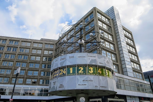 2 Days in Berlin: World Clock on Alexanderplatz