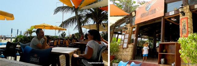 Restaurante Barracuda, Praia de Santa Maria, Ilha do Sal