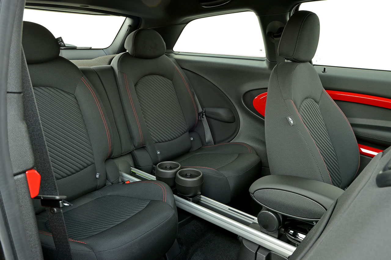 The new MINI John Cooper Works Paceman interior