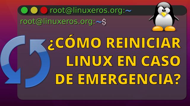 Cómo Reiniciar Linux en Caso de Emergencia