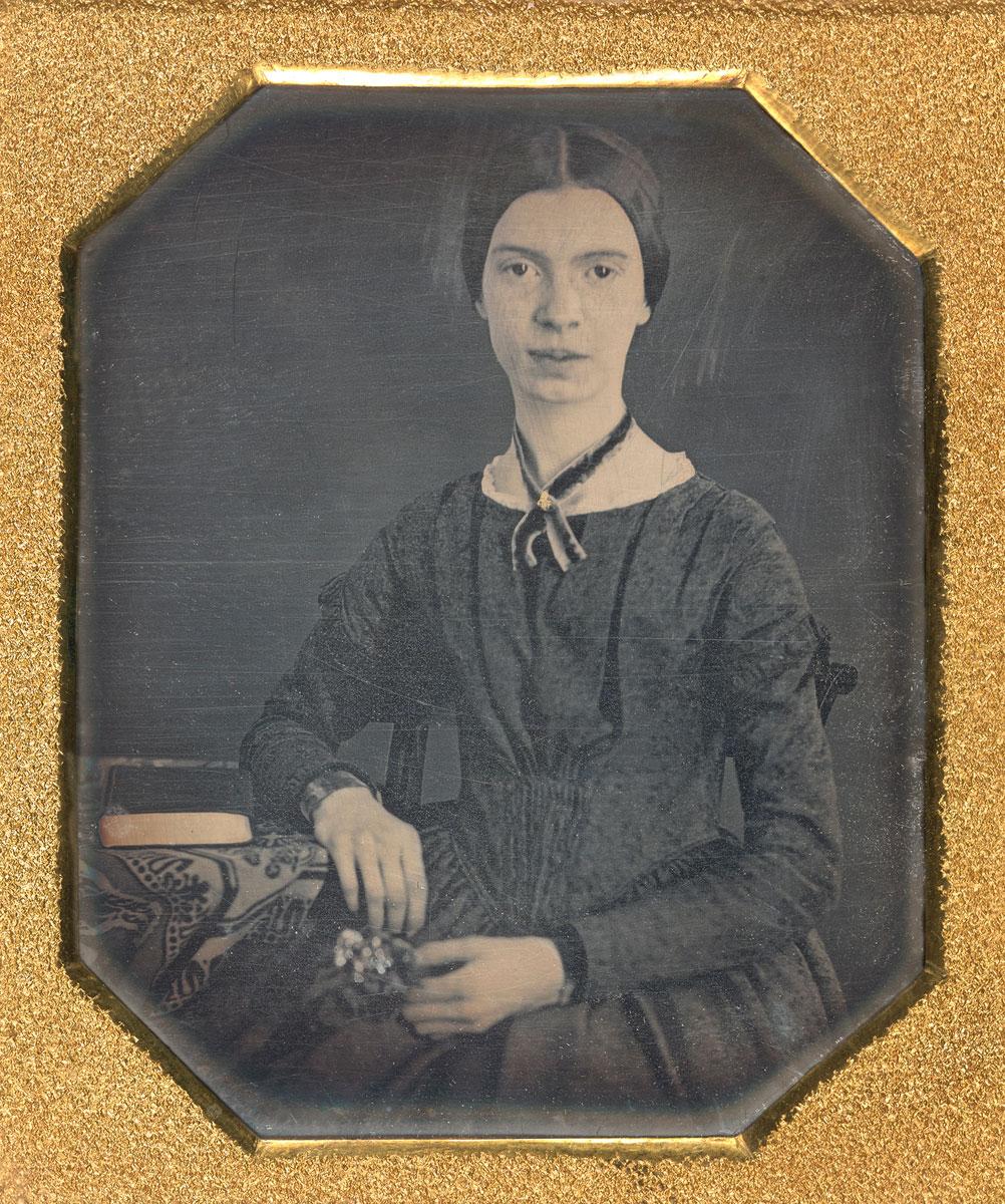 Retrato de Emily Dickinson