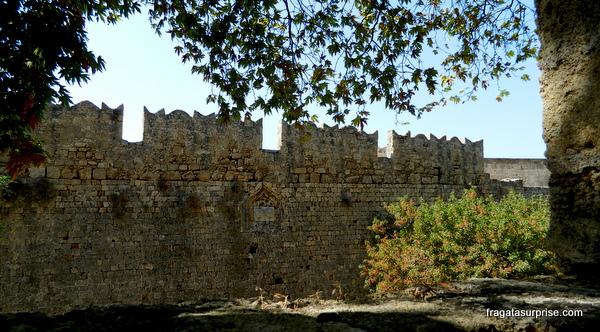 Muralhas da fortaleza dos Cavaleiros de Rodes