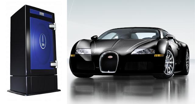 Bugatti Veyron 16.4 With Stockinger Safe