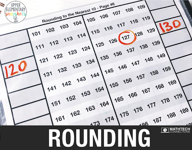 Free Rounding activities for guided math groups. Review rounding with theses free activities. Round to the nearest 10, 100, or 1,000. Third grade rounding activities.
