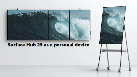 Surface Hub 2S as a personal device
