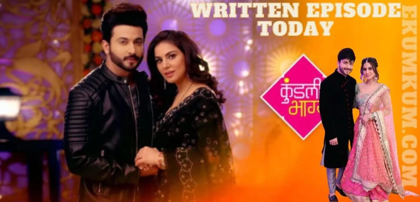Kundali Bhagya 20 July 2021 Written Update, Preview, Promo, Zee5 Full Episode Spoilers