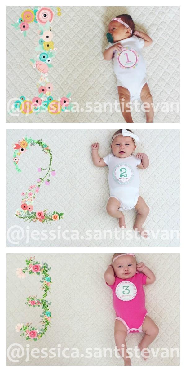 Baby Monthly Photo App