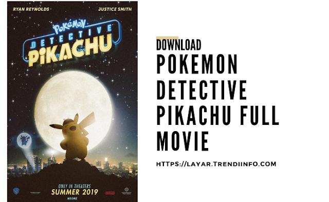 download detective pikachu 2019 sub indo