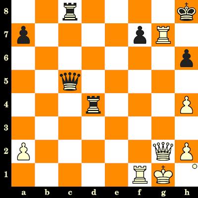 Les Blancs jouent et matent en 3 coups - Iulija Osmak vs Andreea-Marioara Cosman, Batoumi, 2018