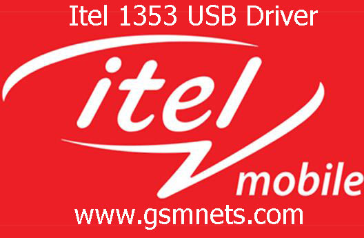 Itel 1353 USB Driver Download