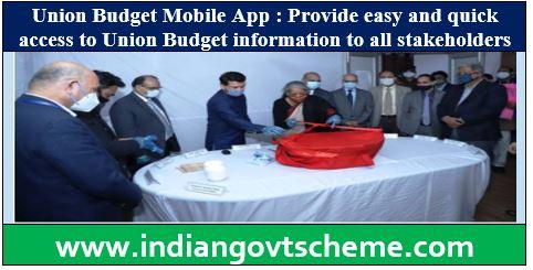 Union Budget Mobile App