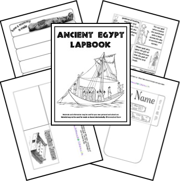Exploring Biblical Places and Times: Egypt Homeschool Freebies