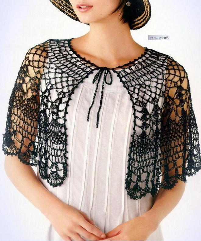 Crochet Cape Patterns - So Soft For Summer