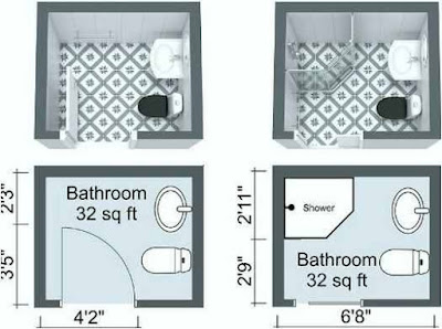 Compact Bathroom Layout Ideas that Attract