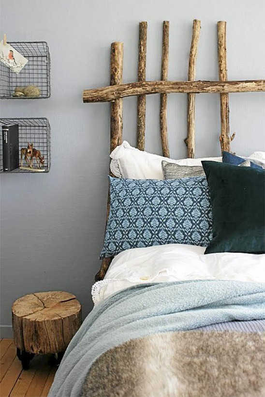 15 Wicked Rustic Bedroom Designs That Will Make You Want Them: The Peak Of Très Chic: Headboard Heaven