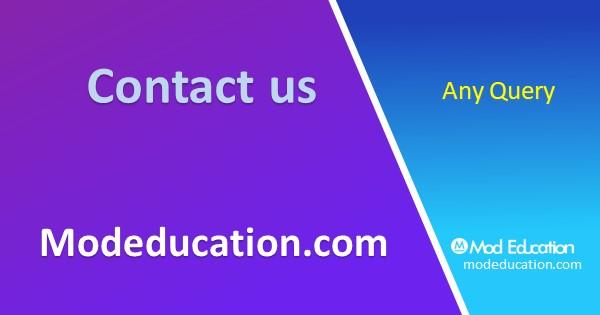 Contact us modeucation