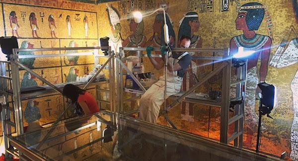 Άνοιξαν για πρώτη φορά μυστήριο κουτί από τον τάφο του Τουταγχαμών