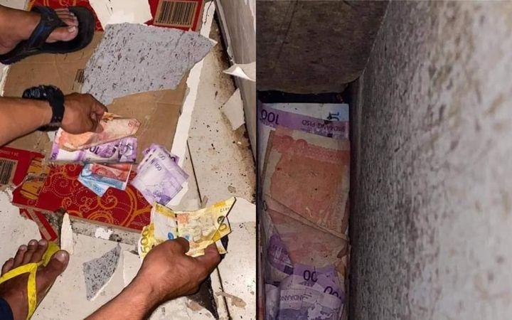 "Rat caught ""stealing"" money from a karinderya owner"