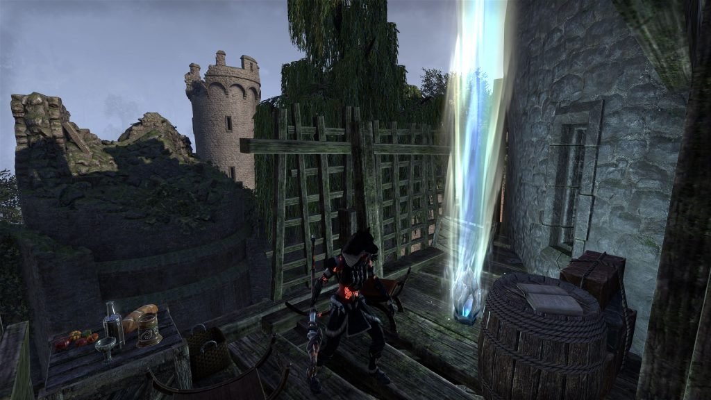 Sky Shard 7 - North of the Tidal Cave / West of the Blue Blood Keep Way Shrine