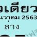 หวยตัวเดียว 2 ตัวล่าง งวด16/12/63