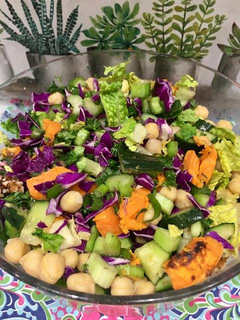 anti- inflammation salad