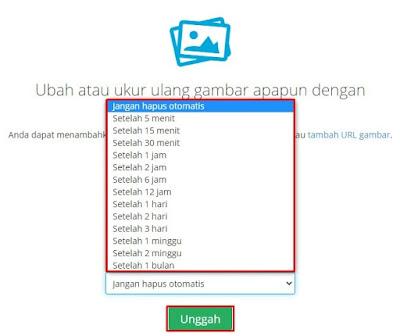 cara buat link gambar di android, convert gambar ke link
