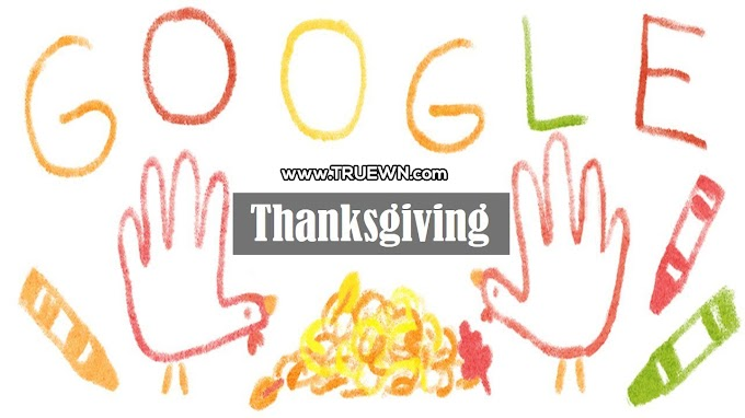 Google Doodle uses hand trukeys to celebrate history of Thanksgiving
