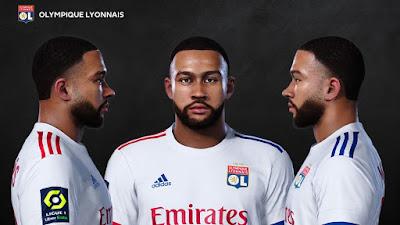 PES 2021 Faces Memphis Depay by Prince Hamiz