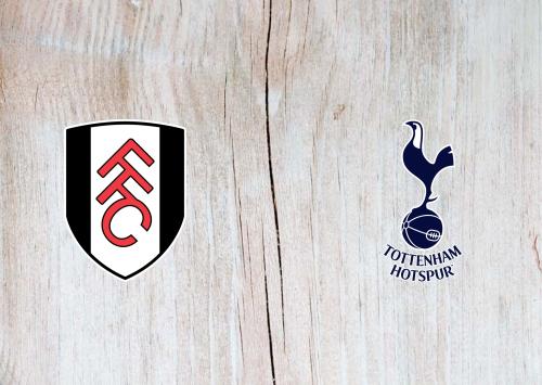 Fulham vs Tottenham Hotspur -Highlights 04 March 2021