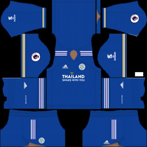 Kits Leicester City 2021 - Dream League Soccer 2019 & FTS