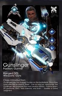 Gunslinger Class (Range)