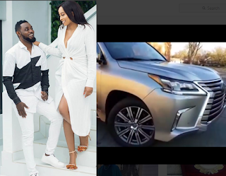 Comedian AY buys his wife a Lexus to mark their 10th wedding anniversary